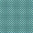 Green with blue dots seamless pattern — Stock Photo