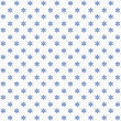 Stockfoto: White seamless christmas snowflakes pattern