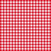 Röda och vita fyrkantiga seamless mönster — Stockfoto