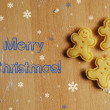 Merry Christmas greeting card — Stock Photo #15411747