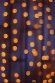 Abstract background of orange bokeh — Stock Photo