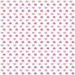 Royalty-Free Stock Photo: Seamless pattern of bright pink colorful hearts
