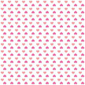 Seamless pattern of bright pink colorful hearts — Stock Photo