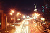 Night city Kyiv, Ukraine — Stock Photo