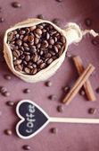 Kawa w torbę — Zdjęcie stockowe