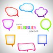 Royalty-Free Stock Vector Image: Color Speach Bubbles