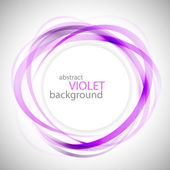 Abstract violet rings vector background — Stock Vector
