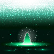 Royalty-Free Stock Vector Image: Xmas tree with sparkles eps10 vector illustration