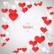 Royalty-Free Stock Vector Image: Happy valentine\'s day background