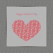 Valentine — Vettoriale Stock