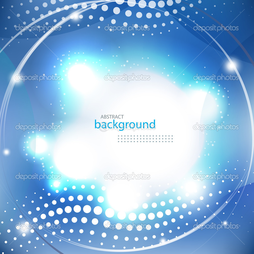 Abstract blue shiny background eps10 vector illustration — Stock Vector #19717313