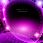 Shiny purple abstract background eps10 vector illustration — Stock Vector