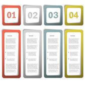 Papier-wahl-vorlage — Stockvektor
