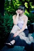 Summer portrait — Stock Photo