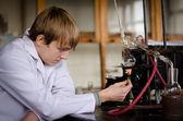 Chemist at work. — Stock Photo