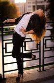 Urban girl — Stock Photo
