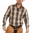 Cowboy black hat — Stock Photo