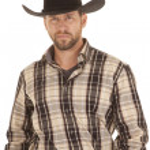 Striped shirt hat — Stock Photo #16570557
