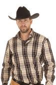 Striped shirt hat — Stock Photo