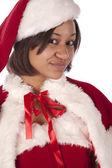 Santa's helper — Stock Photo
