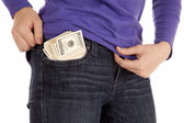Loaded pocket — Stock Photo