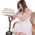 Books chain — Stock Photo #29591525