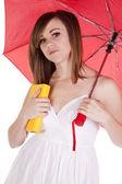 Book umbrella — Stock Photo
