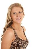 Woman  look smile — Foto Stock
