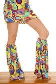 Hippi bacaklar stand — Stok fotoğraf
