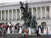 Independence square in Kiev, Ukraine — Stock Photo