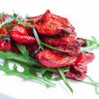 Roasted red peppers - Stock Photo
