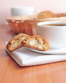Coffee with cookies — Stock Photo