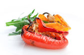 Grilled peppers — Stock Photo