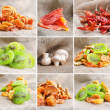 Food collection, vegetables and fruits — Stock Photo #20062445