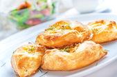 Cheese pies — Stock Photo