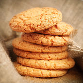 Freshly baked homemade cookies — Stock Photo