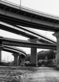 Highway bridge — Stock Photo