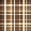 Tartan seamless background — Vettoriali Stock