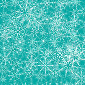 Christmas vector background with snowflakes — Stock Vector