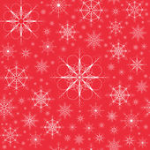 Seamless christmas background with snowflakes — Stock Vector