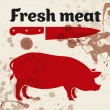 Fresh meat — Stock Vector #12071514