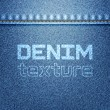 Stock Vector: Denim texture