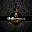 Halloween vector kaart — Stockvector  #13186647