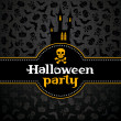 Royalty-Free Stock Vectorielle: Halloween vector card