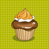 Cupcake — Vettoriale Stock
