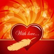 Royalty-Free Stock Vektorov obrzek: Valentines day vector card