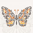 Stockvektor : Abstract butterfly