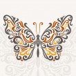 abstracto mariposa — Vector de stock  #23269008