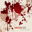 Vetorial Stock : Blood stains
