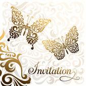 Invitation — Stock Vector